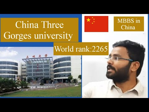 MBBS In China: China Three Gorges University
