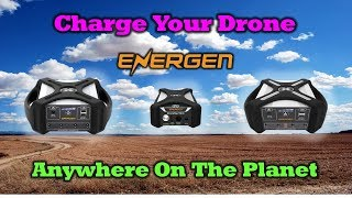 The Perfect Charging Solution For Your Drone - Energen DroneMax Portable Drone Charger Overview