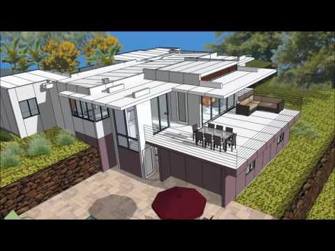 How to place tridipanels for the Kona Keopu House
