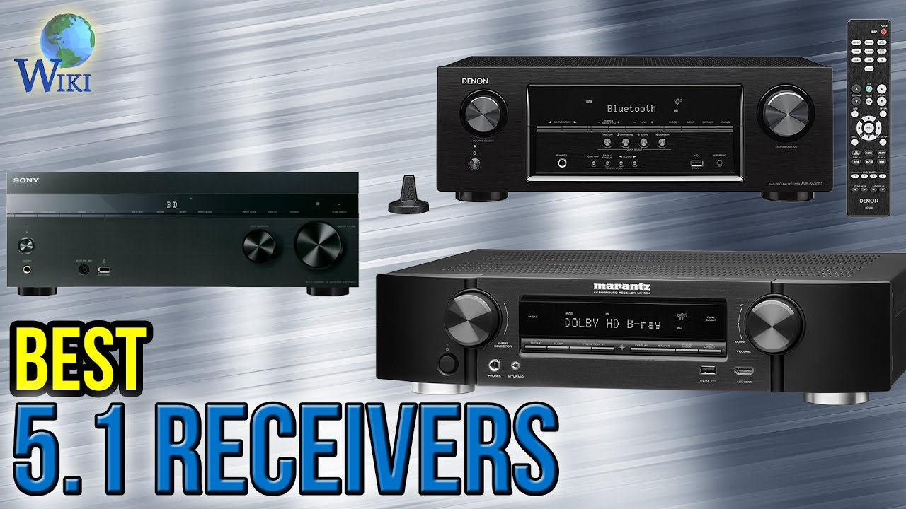 7 Best 5 1 Receivers 2017 Youtube