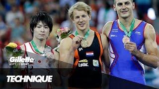 Gymnastics Masterclass with Kohei Uchimura & Epke Zonderland | Gillette World Sport