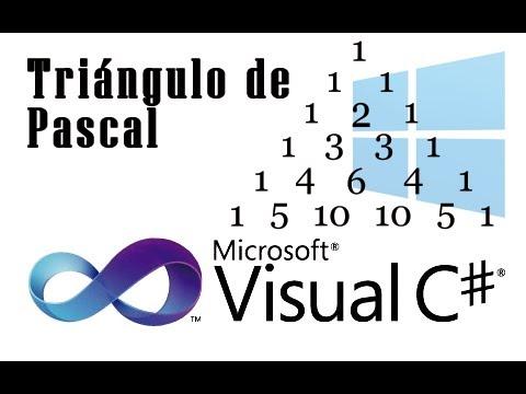 Tutorial C# - Cómo Hacer un Triángulo de Pascal - YouTube