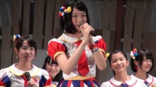 2014年8月2日 AKB48チーム8、アオーレ長岡にて。