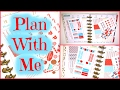 Plan With Me | Rewind | Peppermint Mocha