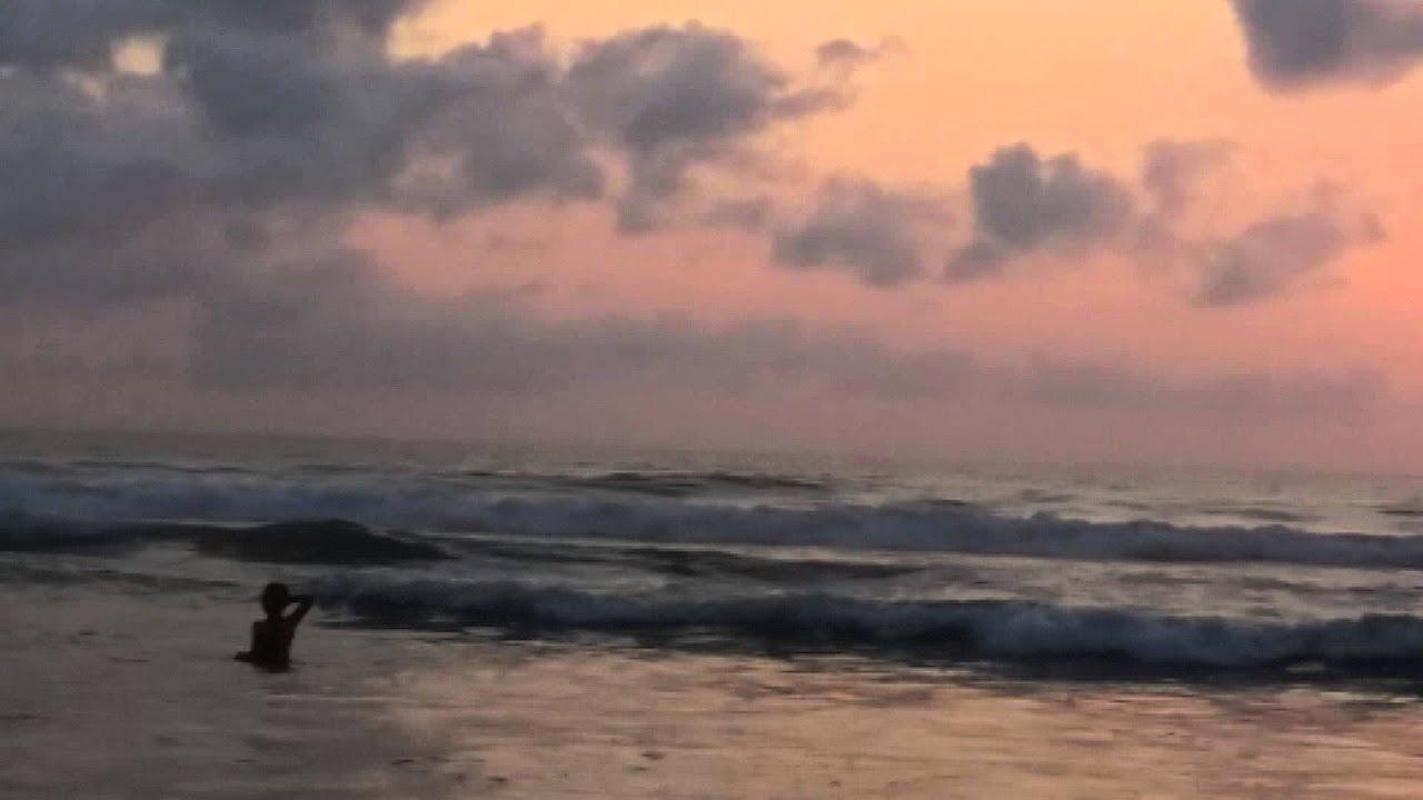 Sunset Di Pantai Kuta Bali 20 Oktober 2015