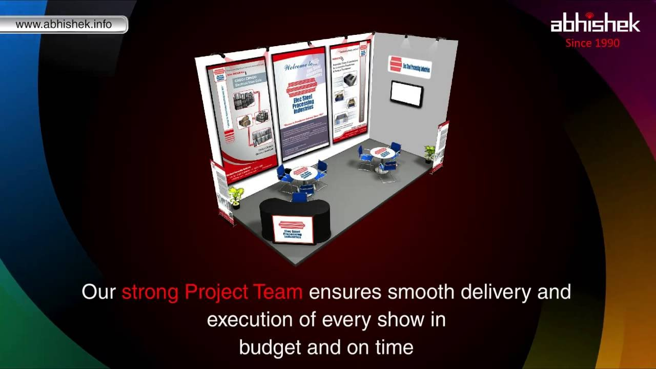 Exhibition Stall Design Agency In Vadodara : Exhibition stall design company in vadodara india