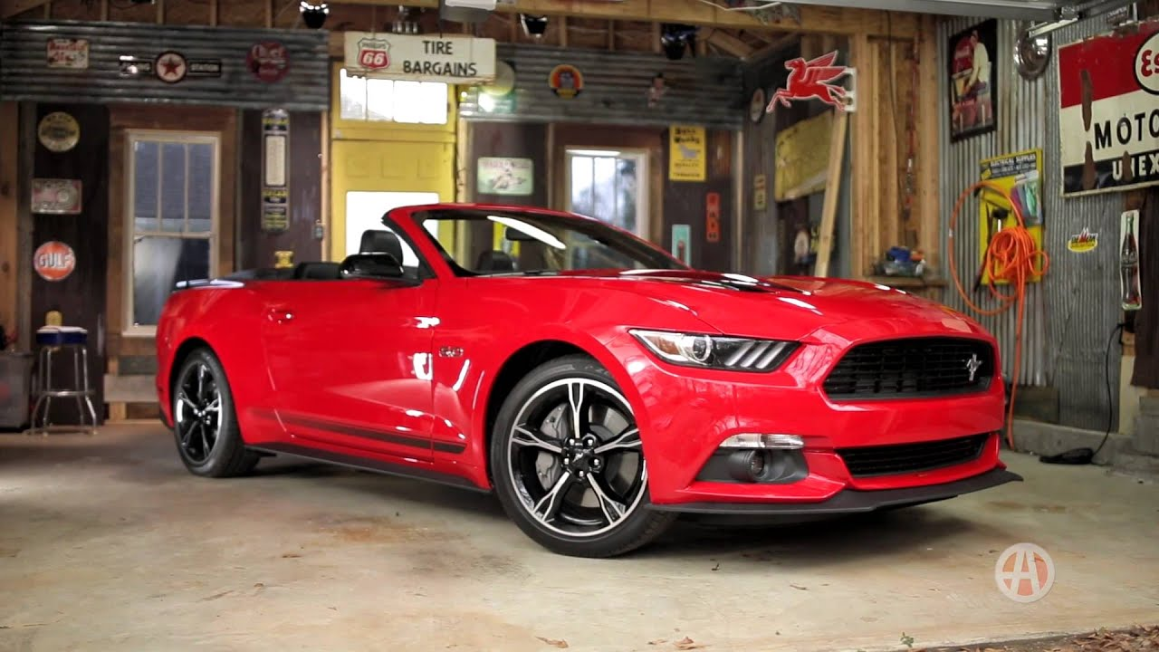 2016 ford mustang convertible real world review autotrader youtube. Black Bedroom Furniture Sets. Home Design Ideas