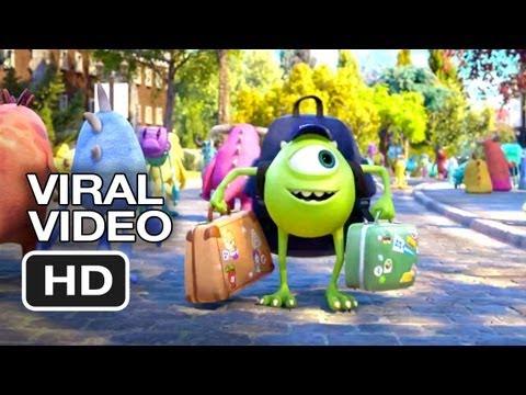 Monsters University Viral Teaser - We See Monsters University (2013) Pixar Prequel HD