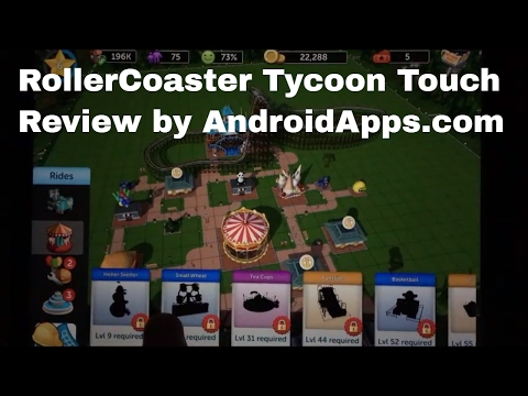 RollerCoaster Tycoon Touch is a Screamer - Android Apps