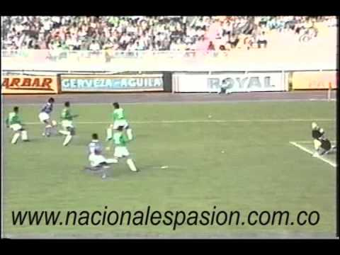Andres Escobar highlights on Atletico Nacional with some exuberant commentary