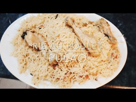 Bien connu recette pakistanaise riz au poulet PULAO - YouTube IB59