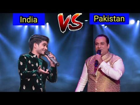 Salman Ali VS Rahat Fateh Ali Khan Killing Performance - Best Singing Fight Ever ||