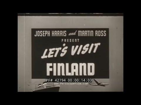 """-let's-visit-finland-""-1935-travel-film-helsinki-liinakhamari-lapland-arctic-ocean-highway-42794"