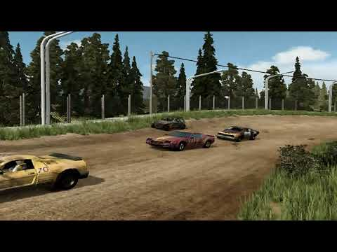 flatout 3 : race with replay 5 with my car of chilli