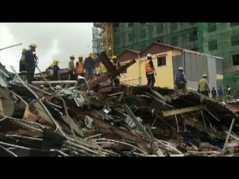 Deadly Cambodia building collapse | AFP