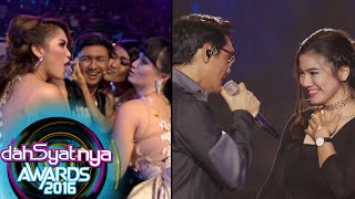 Afgan & Felycia 'Knock Me Out' Buat Hito & Cecepi Cemburu [Dahsyat Awards 2016] [25 Jan 2016]