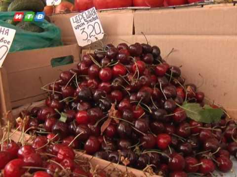 В Крыму высокие цены на клубнику и черешню