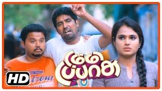 dummy tappasu tamil movie   scenes   ramya pandian approaches singamuthu   praveen prem