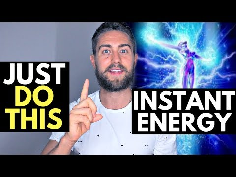 Powerful Technique to Increase Energy Instantly (Try This)