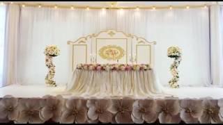 Потрясающее оформление свадебного зала от Em Studio