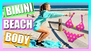 FITNESS ROUTINE! Get Bikini Body Ready for Summer - Shannon Estelle - Summer Workout Routine