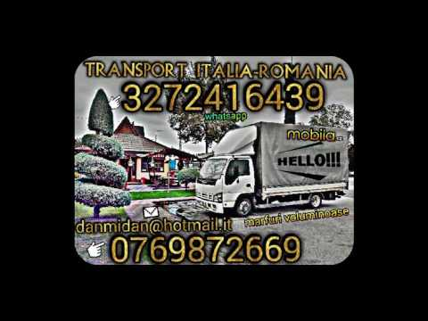 Transport mobila Italia Romania