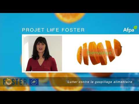 Formation à la lutte contre le gaspillage alimentaire - Life Foster - Afpa