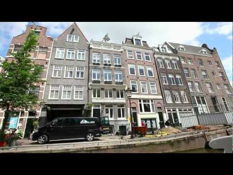 Прогулка по каналам Амстердама (Walking along the canals of Amsterdam)