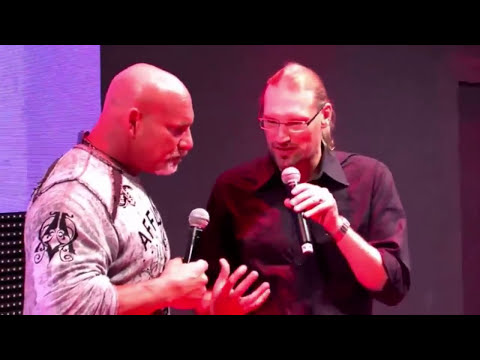 GOLDBERG #WWE2K17 #GAMESCOM PRESENTATION CONFERENCE