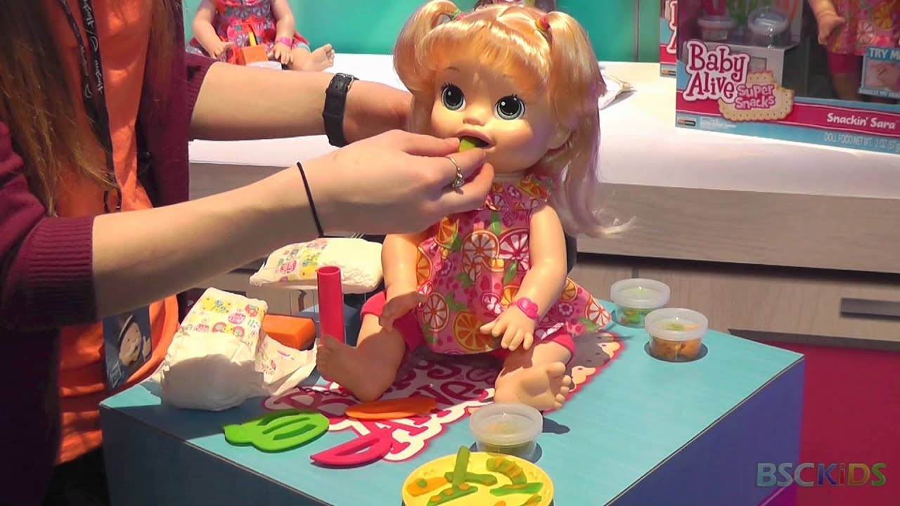 Baby Alive Snackin Sara Youtube