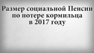 видео Будет ли выплата 5 тысяч рублей к пенсии по потере кормильца?