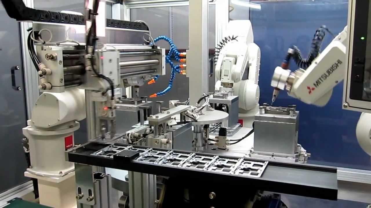 Mitsubishi Electric Robots Deburring Material Handling ...