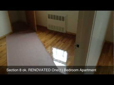 renovated section 8 one 1 bedroom youtube