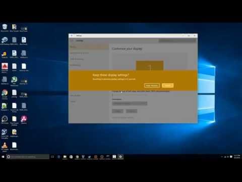 How to Change Windows 10 Screen Rotation - YouTube