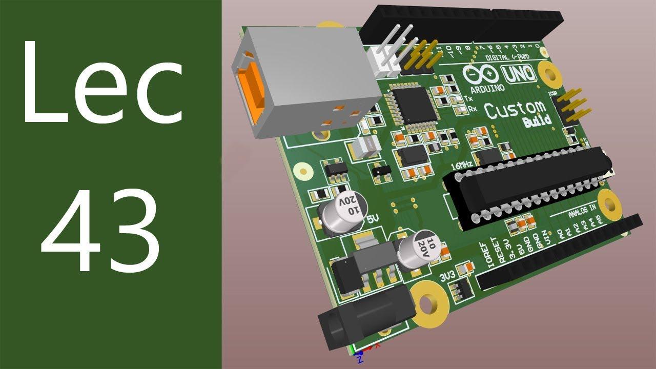 Lecture 43 - USB Circuit Schematic | Arduino Uno Schematic in OrCAD Capture  CIS