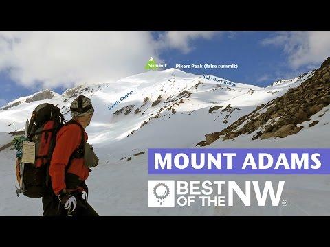Climb & Ski Mount Adams