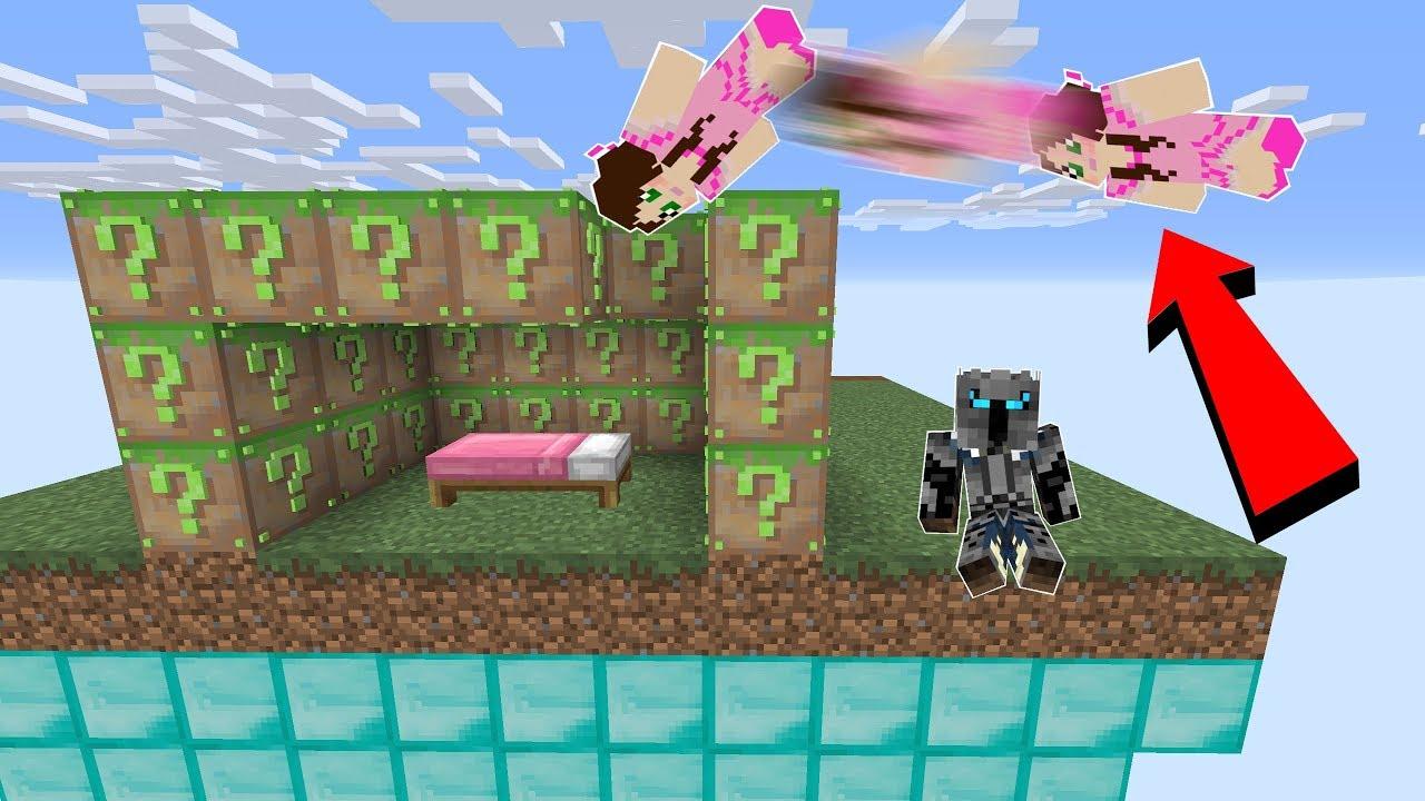 Minecraft: FAKE MINECRAFT LUCKY BLOCK BEDWARS! - Modifiziertes Minispiel + video