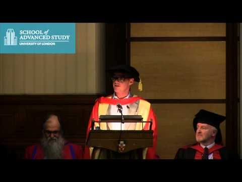 School of Advanced Study Graduation 2013 - Heston Blumenthal