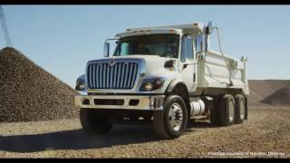 AUSA 2016: Navistar Defense Heavy Dump Truck requirement proposal