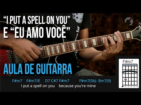 I Put A Spell On You - Eu Amo Você | Mashup (como tocar - aula de guitarra)
