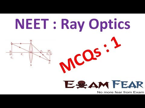NEET Physics Ray Optics : Multiple Choice Previous Years Questions