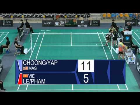 Choong / Yap vs Le / Pham (WD, R32) - Orleans Intl. 2016
