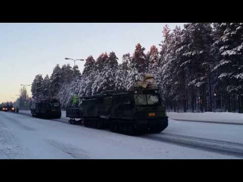 Finnish defense forces parade, Kajaani, 6th of Dec, 2016
