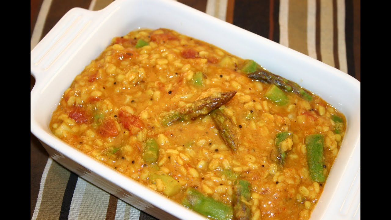 Mung daal with asparagus recipe youtube mung daal with asparagus recipe forumfinder Choice Image