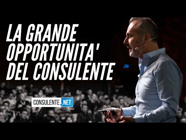 CONSULENTE.NET: LA GRANDE OPPORTUNITA'