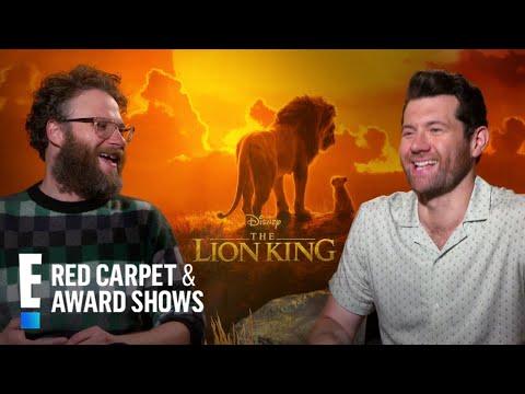 "Seth Rogen & Billy Eichner To Meet Royals at ""Lion King"" UK Premiere  E Red Carpet & Award Shows"