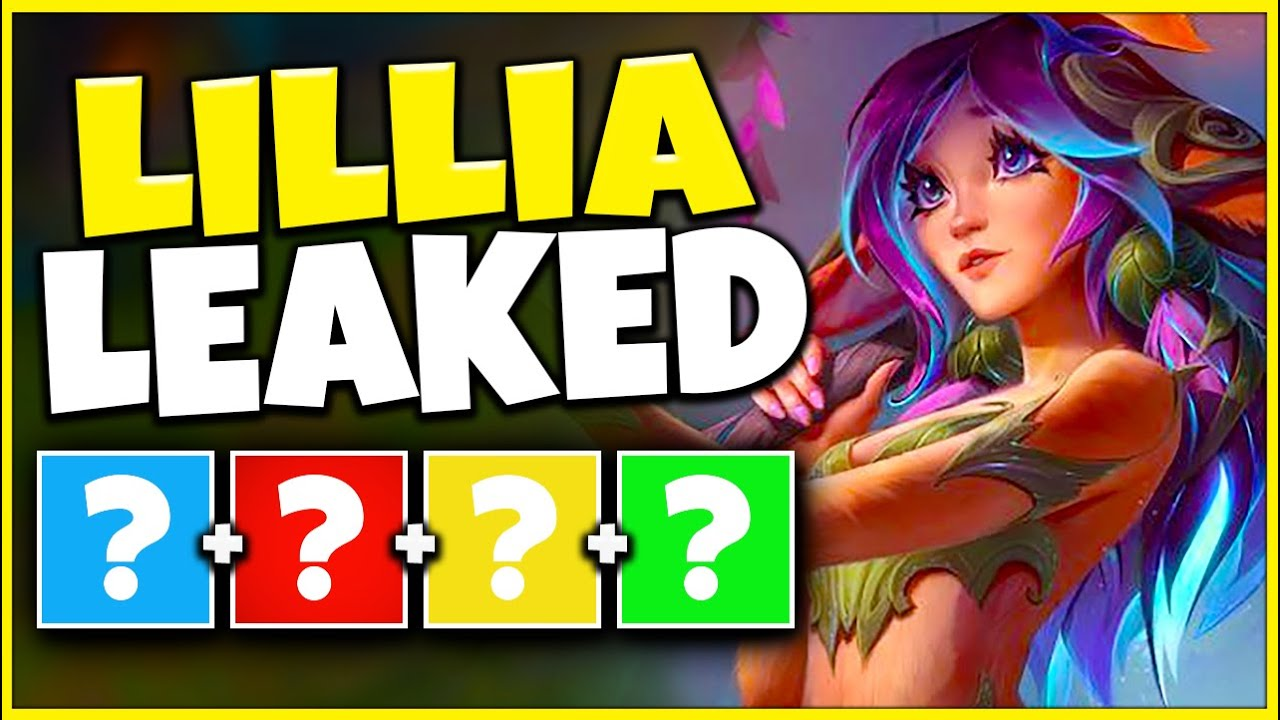 NEW CHAMPION LILLIA LEAKED (DELETED LEAK) + YONE COMING SOON??? - League of Legends