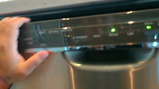 GE dishwasher fix for blinking light and won