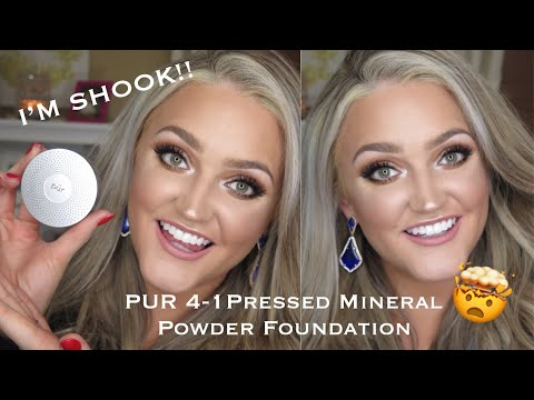 PUR 4-1 Pressed Mineral Powder Foundation | Review and Wear Test