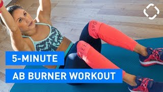 5 Minute Abs Workout (Collab with The Lean Machines)